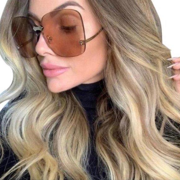 gucci brown gg0352s sunglasses